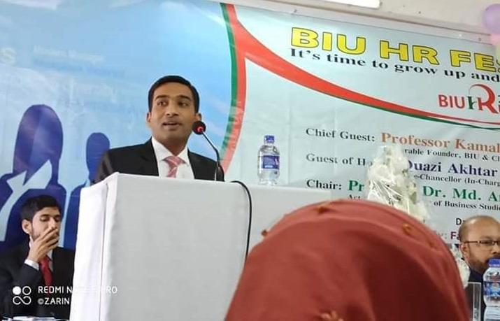 HR Seminar Speech by Mahmud